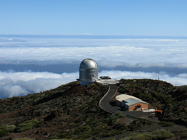 Nordic Optical Telescope (NOT) on La Palma, Canary Islands. Photo by Michael Hanselmann @ www.MichaelHanselmann.de