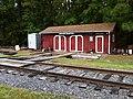 North Carolina Railroad Museum ^ New Hope Valley Railway Oct 2013 Speeder Shack - panoramio (1).jpg