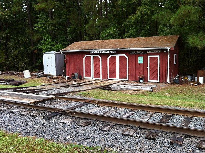 File:North Carolina Railroad Museum ^ New Hope Valley Railway Oct 2013 Speeder Shack - panoramio (1).jpg