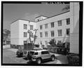 North facade detail, facing east - Santa Monica City Jail, 1685 Main Street, Santa Monica, Los Angeles County, CA HABS CA-2803-6.tif