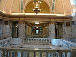 North on upper floor of Historic Utah County Courthouse, Jul 15.jpg