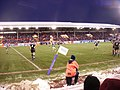 North stand, a snowy Pittodrie stadium - geograph.org.uk - 1120073.jpg
