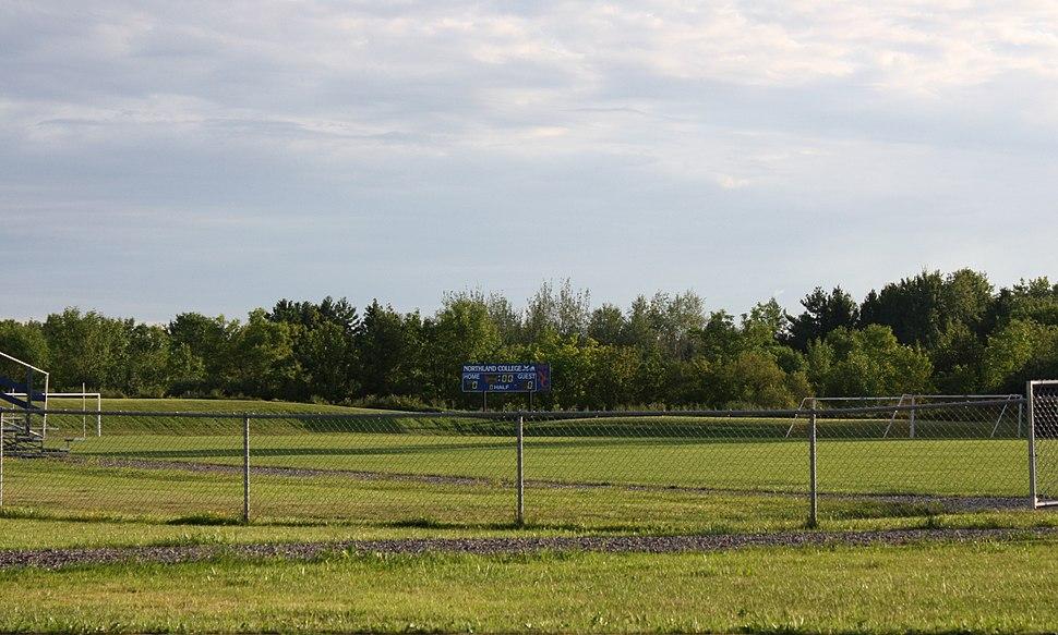 Northland College Ashland Wisconsin Sports Field