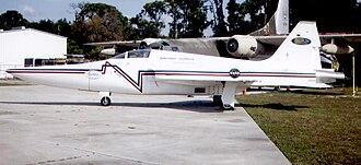 Sonic boom - NASA F-5E modified for DARPA sonic boom tests
