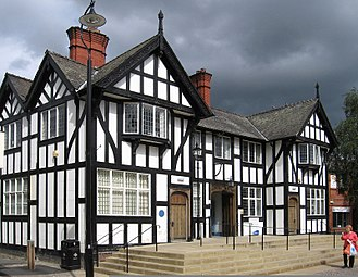 Northwich - Image: Northwich Public Library