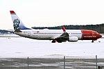 Norwegian (Jens Moe livery), LN-NIJ, Boeing 737-8JP (32682770567).jpg