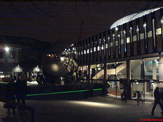 Nottingham Playhouse theatre in Nottingham, England