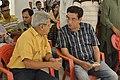 Nrisingha Prasad Bhaduri Talks with Sabyasachi Chakrabarty - Kolkata 2016-07-29 5234.JPG