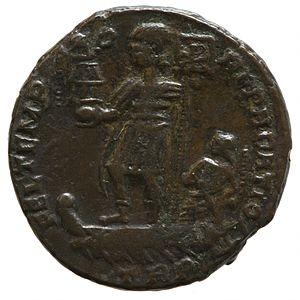 Constans - Obverse showing Constans portrait