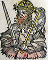 Nuremberg chronicles - Atilla, King of the Huns (CXXXVII).jpg