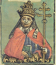 Nuremberg chronicles f 242v 2 (Felix V)