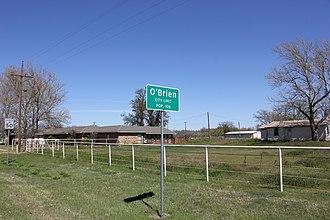 O'Brien, Texas - Image: O'Brien, Texas (2016)