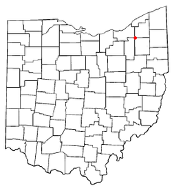 Location of Reminderville, Ohio