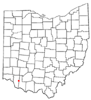 Location of Williamsburg, Ohio