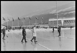 1964 Winter Olympics - Eisschnellaufbahn