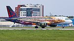 OO-SNF A320 Brussels Airline Tomorrowland livery DME UUDD 2 (34708739820).jpg