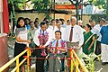 OPENING OF THE ACCESSIBLE PATHWAY AT MOUNT LAVINIA POST OFFICE .JPG
