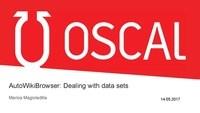 OSCAL '17, Tirana 14.05.2015. Talk by Marios Magioladitis on AWB