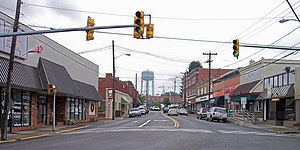 Main Street (West Virginia Routes 16 and 61) i...