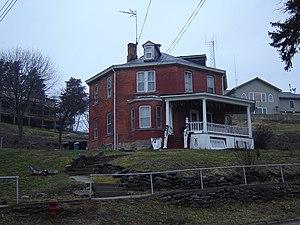 Sparland, Illinois - The historic Robert Waugh House on School Street