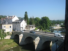Bridge across the Oise River