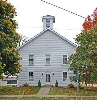 National Register of Historic Places listings in Cheboygan County, Michigan - Image: Old Cheboygan County Courthouse
