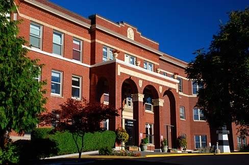 Old Columbia Hospital Building (Clatsop County, Oregon scenic images) (clatDA0020c)