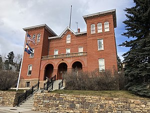 Gilpin County, Colorado - The Old Courthouse in Central City houses much of the county government.