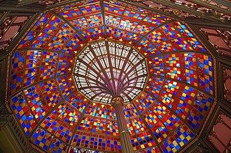 William Alfred Freret - Freret's glass dome in the Old Louisiana State Capitol