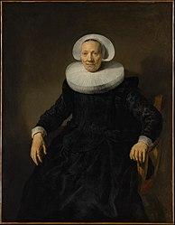 Jacob Adriaensz Backer: Old Woman in an Armchair