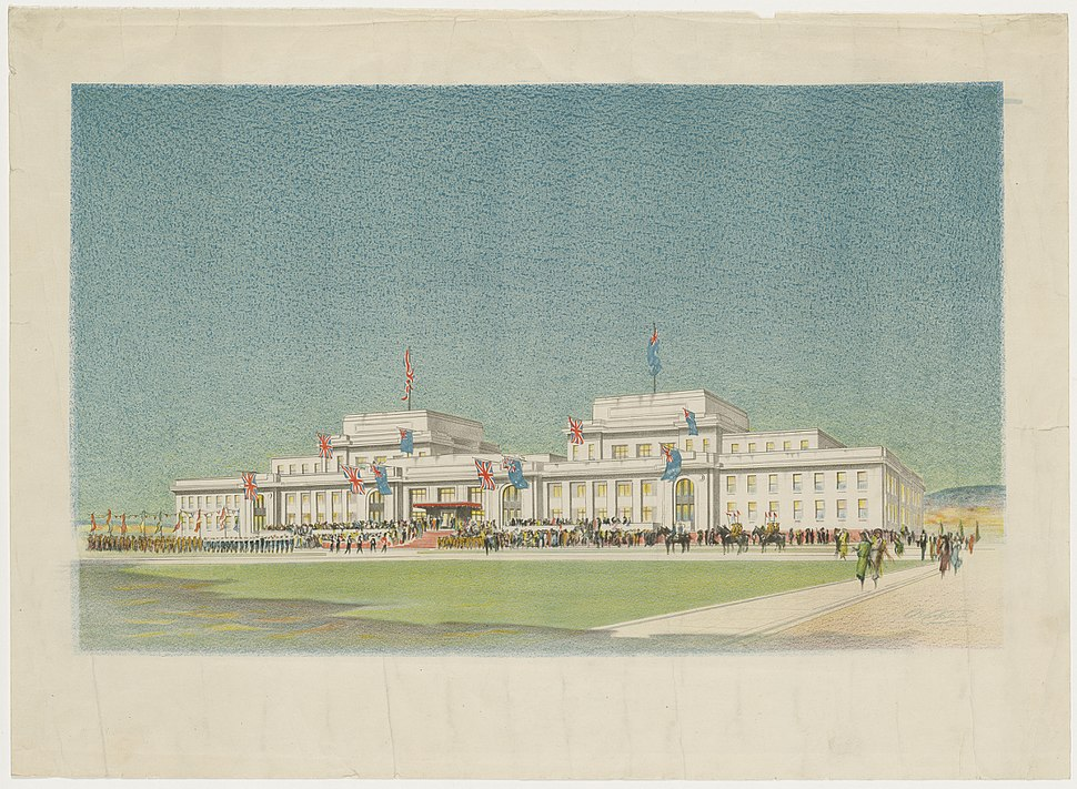 Old parliament house opening