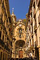 Old town and church - San Sebastian, north Spain - panoramio.jpg