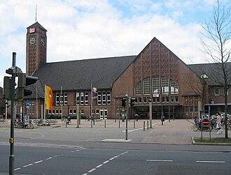 Oldenburg–Bremen railway - Oldenburg Hauptbahnhof