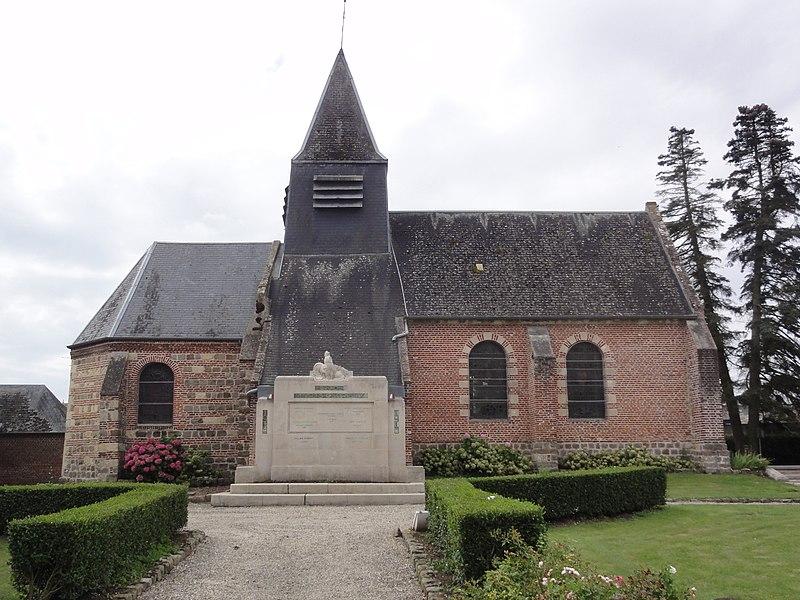 Ollezy (Aisne) église