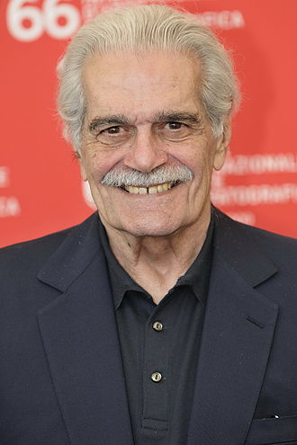 Omar Sharif - Sharif at the Venice Film Festival in 2009