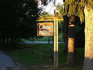 Omega Institute for Holistic Studies - Image: Omega Institute, Lake Drive, Rhinebeck, New York