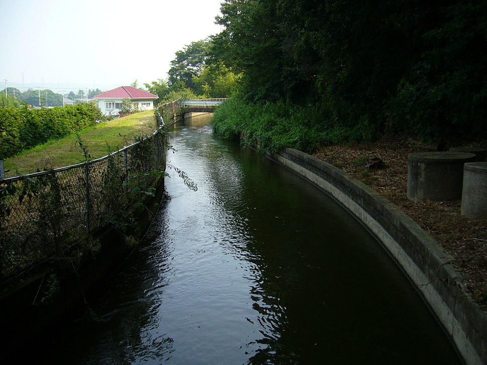 Ootone-water-for-irrigation,tonosyo-town,chiba,japan