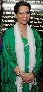 Haya bint Hussein one of King Hussein I of Jordans daughters