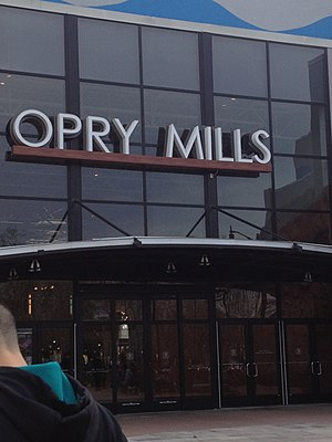 Opry Mills - Image: Opry Mills mall entrance