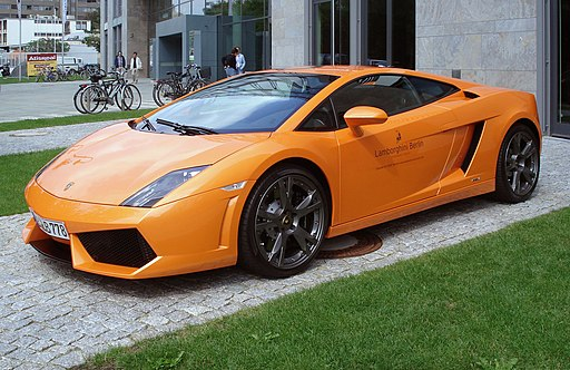 Orange Lamborghini Gallardo LP560 fl