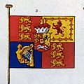 Order in Council, 5th November 1800 – illustrations of the new standard of the United Kingdom of Great Britain and Ireland (PC 2-157).jpg