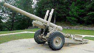 BL 5.5-inch Medium Gun - BL 5.5 inch Mk3 at Garrison Petawawa.