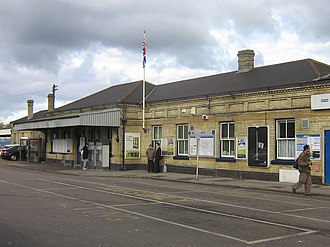 Orpington railway station - The station building in 2007