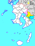 Osaki in Kagoshima Prefecture.png