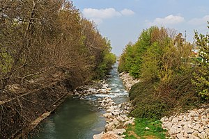 Ak-Buura River - Ak-Buura River at Osh