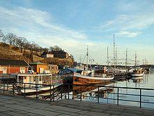 Scorcio del porto di Oslo