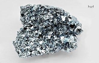 Heavy metals - Image: Osmium crystals