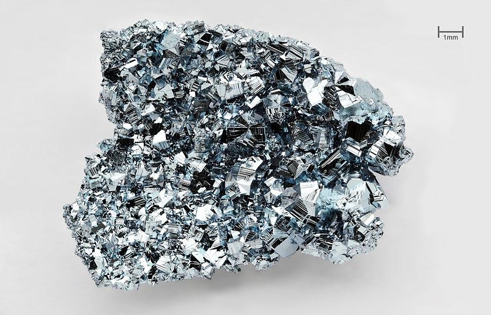 Osmium crystals