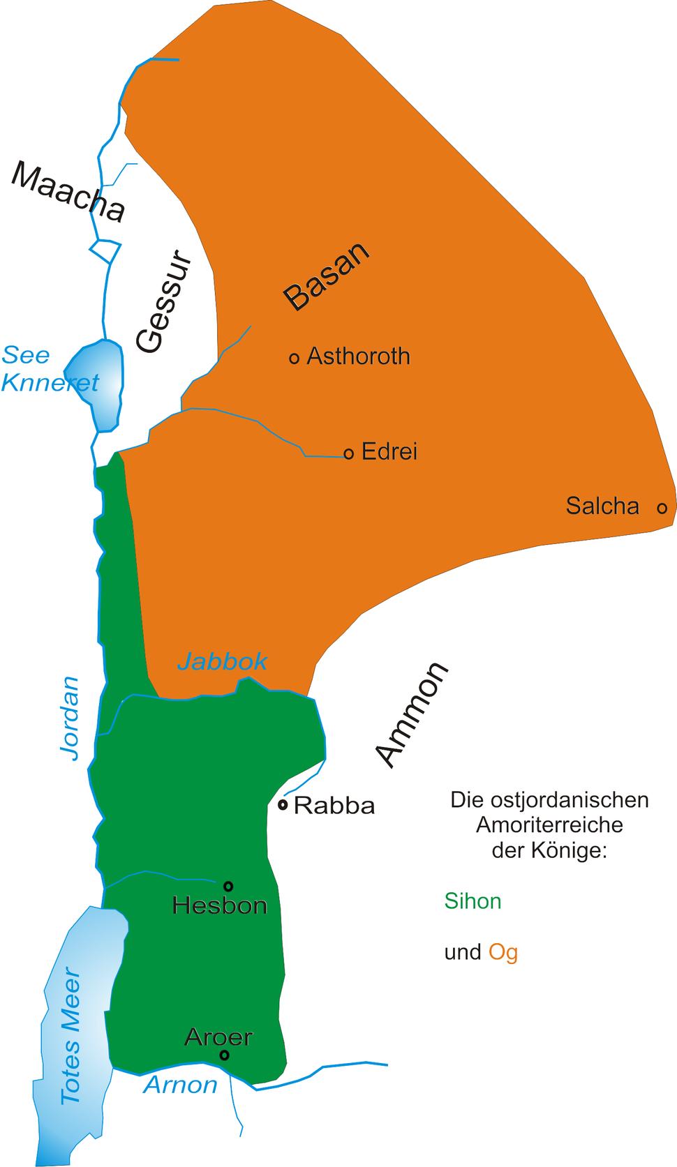 Ostjordanische Amoriterreiche