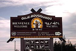 Skyline of Oujé-Bougoumou